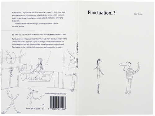 Front and back covers of Punctuation..?