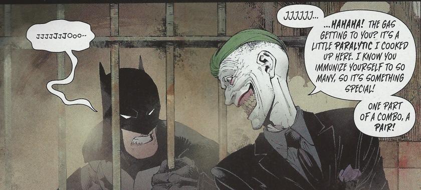 Pictured: Good times. Credit: Batman #36, DC Comics, Scott Snyder (wr), Greg Capullo (p), Danny Miki (i), Fco Plascenia (c), Steve Wands (l).