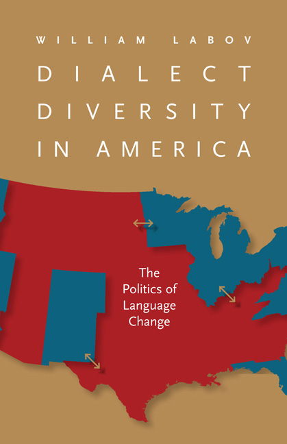 Cover of Dialect Diversity in America: The Politics of Language Change by William Labov.
