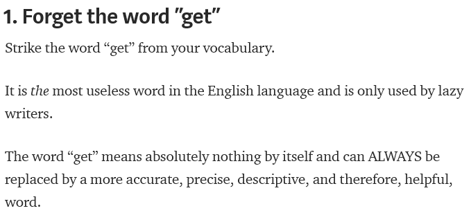 Hackneyed language hacks – …And Read All Over