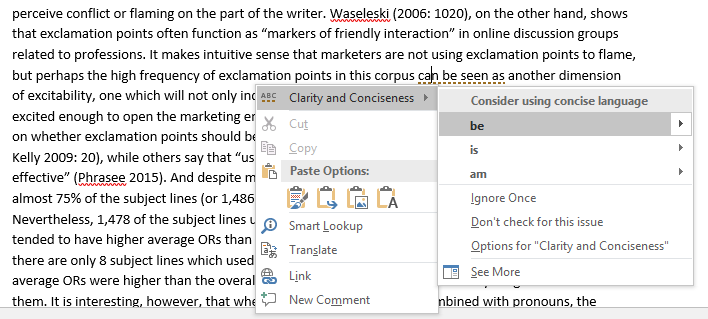 MS Word - to be or not to can be seen as