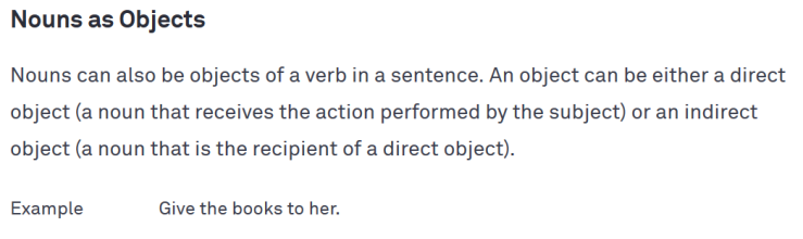 Grammarly imperative object