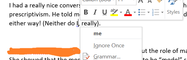 MSWord Neither do me